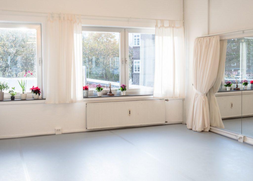 Fenster und Spiegelvorhang