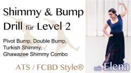2020-03-22 Calaneya Online Shimmy Bump Drill mit Elena