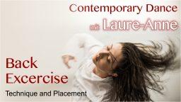 2020-03-25 Calaneya Online mit Laure-Anne Back Excercise