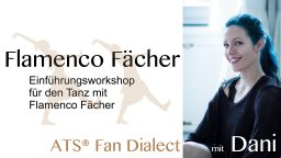 2020-04 Flamenco Fächer mit Dani