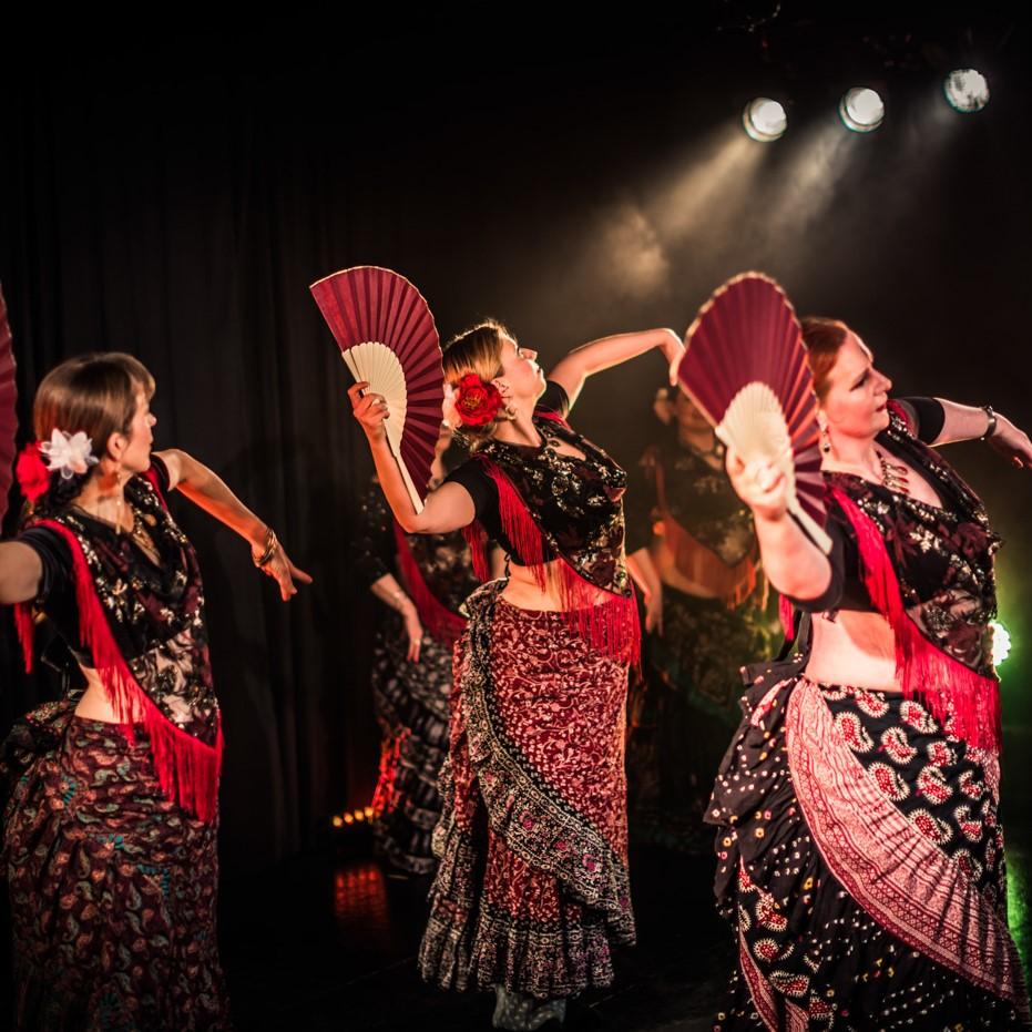 Beitrag Flamenco Fächer